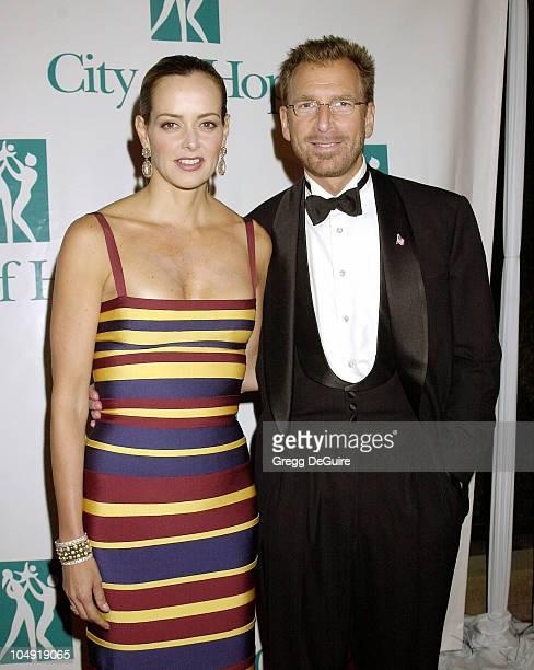 Edgar Bronfman Jr wife Clarissa during City of Hope Spirit of Life Dinner Honoring Edgar Bronfman Jr Pressroom at Universal Studios Backlot in...
