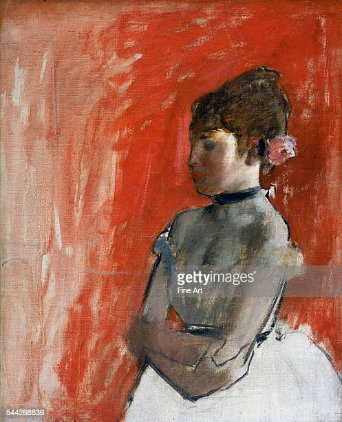 Edgar Degas Ballet Dancer with Arms Crossed c 1872 oil on canvas 613 x 505 cm Museum of Fine Arts Boston