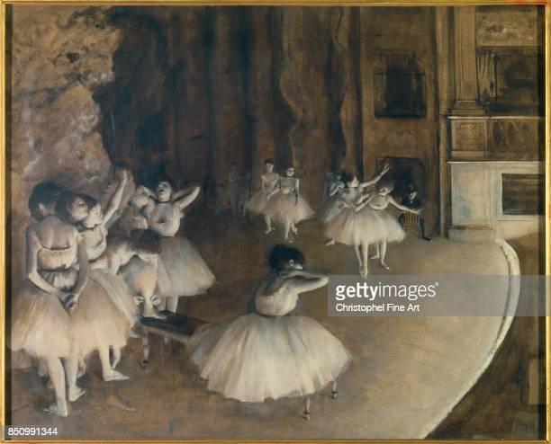 Edgar Degas Ballet Rehearsal 1874 Oil on canvas 065 x 081 m Paris musee d Orsay