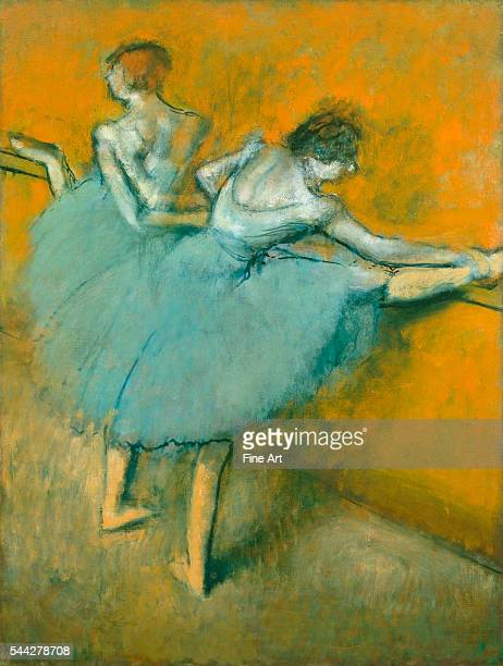 Edgar Degas Dancers at the Barre c 1900 oil on canvas Phillips Collection Washington DC