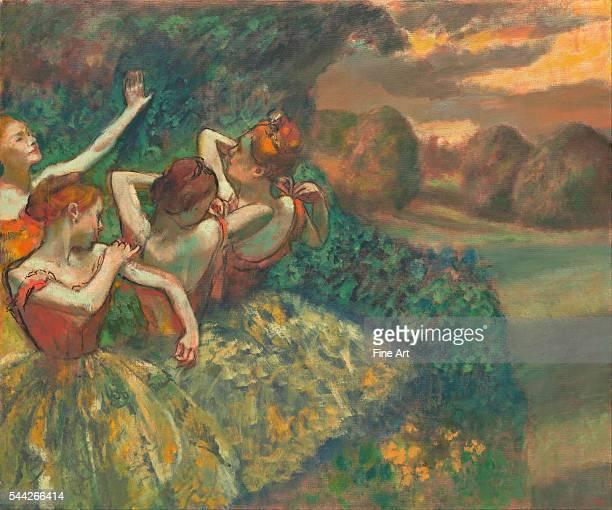 Edgar Degas Four Dancers c 1899 oil on canvas 1511 x 1802 cm National Gallery Washington DC