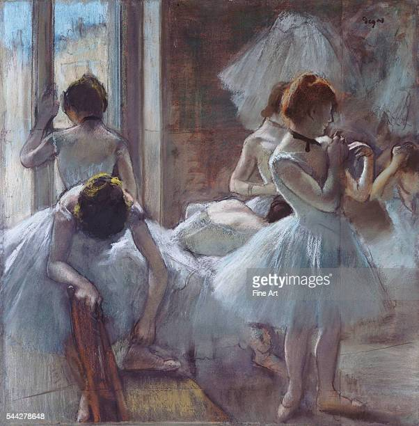 Edgar Degas The Ballet Class oil on canvas 18714 85 x 75 cm Musee d'Orsay Paris