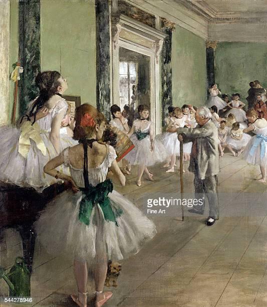 Edgar Degas The Ballet Class oil on canvas 85 × 75 cm Musée d'Orsay Paris