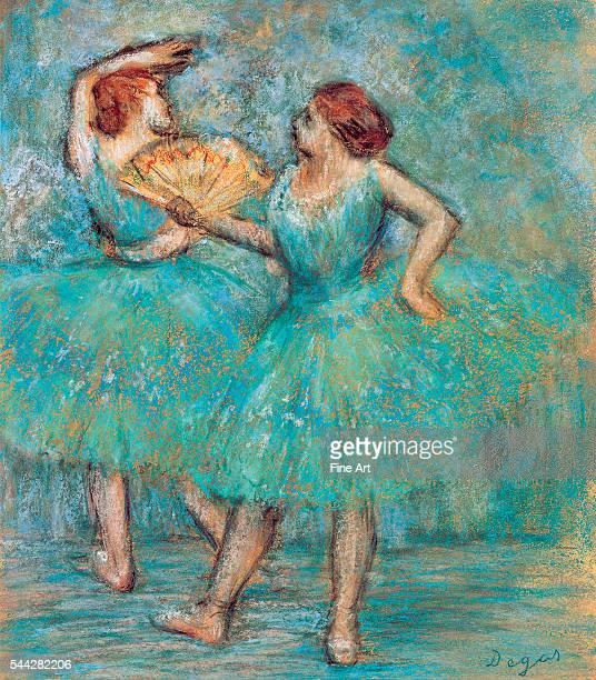 Edgar Degas Two Dancers c 1905 pastel on cardboard Albertina Museum Vienna