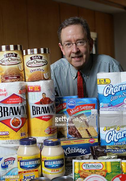Edgar Dworsky a consumer advocate who's been tracking food companies sneakily downsizing grocery packages the halfgallon of ice cream that's now 15...