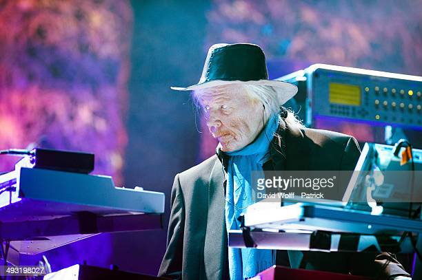 Edgar Froese from Tangerine Dream performs at Le Trianon on May 22 2014 in Paris France