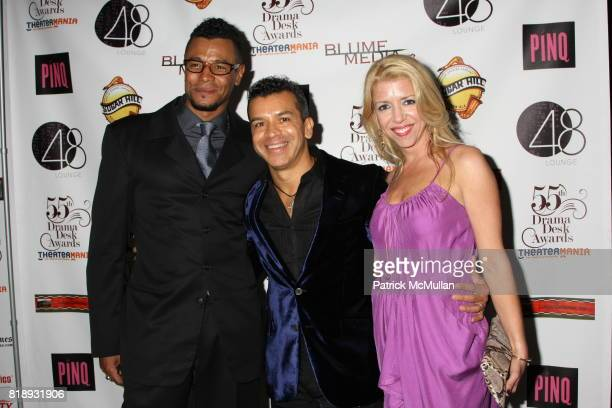 Edgar Godineaux Sergio Trujillo and Kelly Devine attend 55th Annual DRAMA DESK AWARDS at FH LaGuardia Concert Hall at Lincoln Center on May 23 2010...