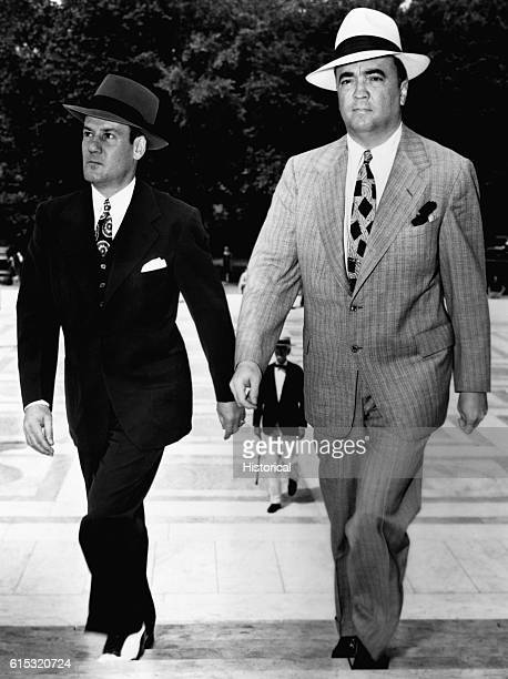 Edgar Hoover and Clyde A. Tolson. Hoover was the Director of the FBI from 1924-1972.