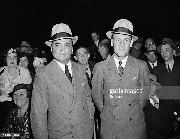 Edgar Hoover and Clyde Tolson.