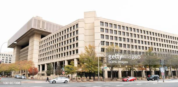 J Edgar Hoover FBI building in Washington DC