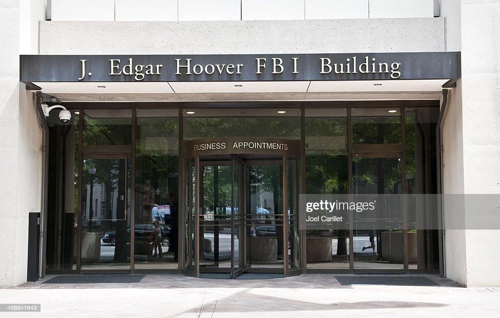 J. Edgar Hoover FBI Building in Washington DC : Stock Photo