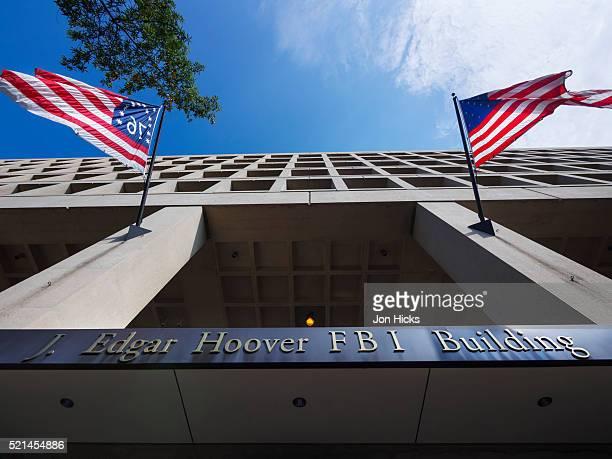j. edgar hoover fbi building, washington dc. - j. edgar hoover foto e immagini stock