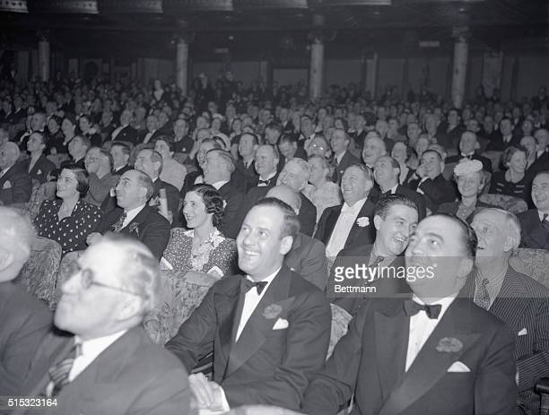 J Edgar Hoover is seen here with Clyde Tolson at the KFS version of Hellzapoppin at the Winter Garden