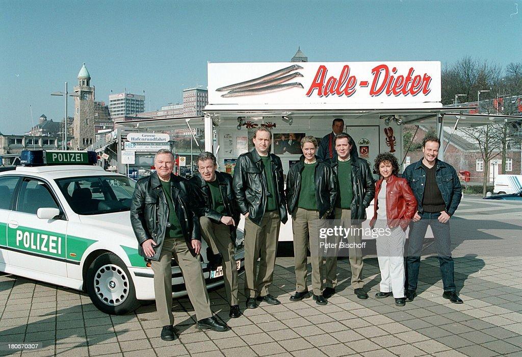 Edgar Hoppe, Peter Neusser, Peter Heinrich;Brix, Dorothea Schenc : News Photo