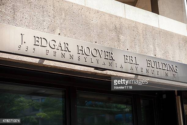 J. Edgar Hover F.B.I Building In Washington DC, USA