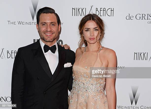 Edgar Ramirez and Ana de Armas attend The Weinstein Company's HANDS OF STONE After Party In Partnership With De Grisogono At Nikki Beach Carlton...