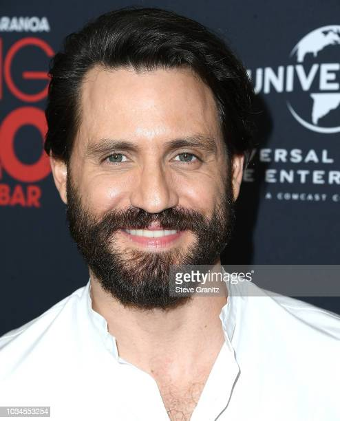 Edgar Ramirez arrives at the Universal Pictures Home Entertainment Content Group's Loving Pablo Special Screening at The London West Hollywood on...