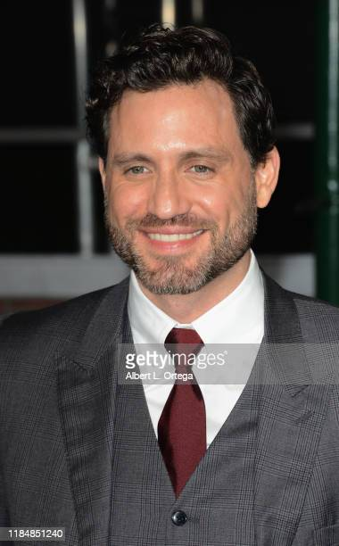 Edgar Ramirez arrives for the Premiere Of Netflix's The Irishman held at TCL Chinese Theatre on October 24 2019 in Hollywood California