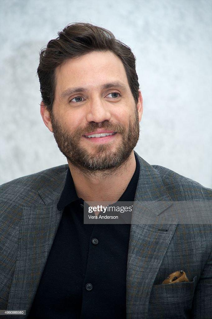 Edgar Ramirez at the 'Joy' Press Conference at the InterContinental Hotel on November 29, 2015 in Century City, California.