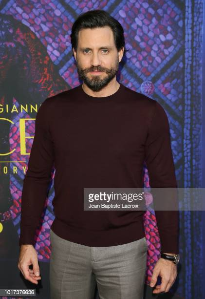 Finn Wittrock Edgar Ramirez and Darren Criss attend a panel and photo call for FX's 'The Assassination Of Gianni Versace American Crime Story' on...
