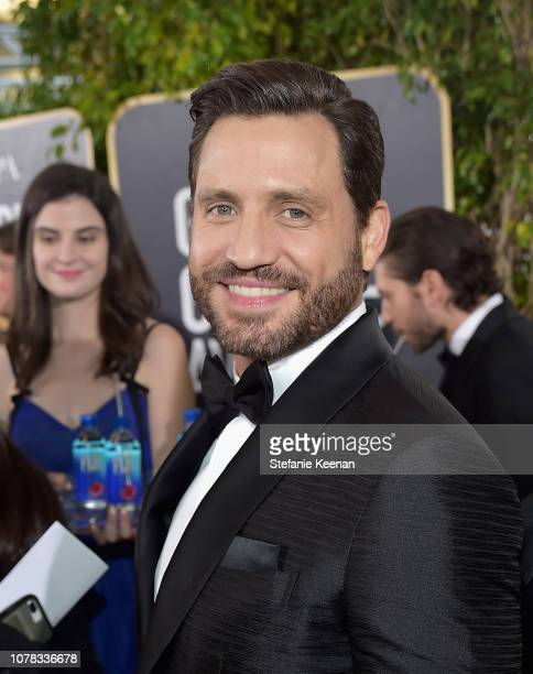 Edgar Ramirez attends FIJI Water at the 76th Annual Golden Globe Awards on January 6 2019 at the Beverly Hilton in Los Angeles California
