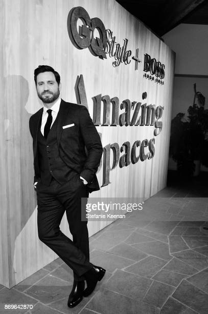 Edgar Ramirez attends GQ Style Hugo Boss celebrate Amazing Spaces with Edgar Ramirez at John Lautner's Harvey House on November 2 2017 in Los Angeles...