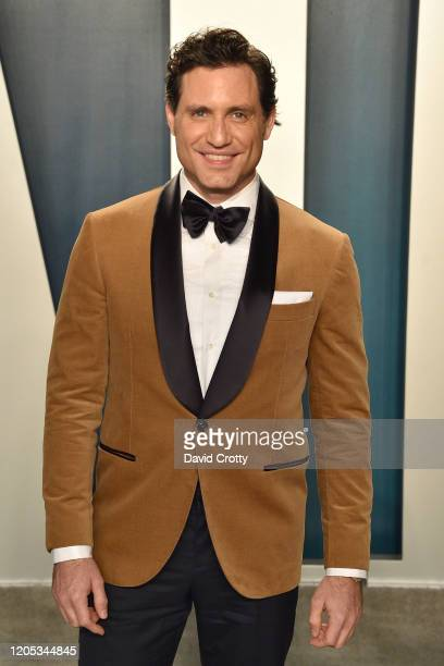Edgar Ramirez attends the 2020 Vanity Fair Oscar Party at Wallis Annenberg Center for the Performing Arts on February 09 2020 in Beverly Hills...
