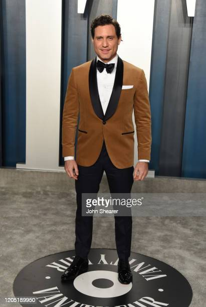 Edgar Ramirez attends the 2020 Vanity Fair Oscar Party hosted by Radhika Jones at Wallis Annenberg Center for the Performing Arts on February 09,...