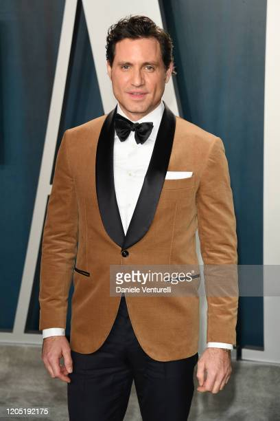 Edgar Ramirez attends the 2020 Vanity Fair Oscar party hosted by Radhika Jones at Wallis Annenberg Center for the Performing Arts on February 09 2020...