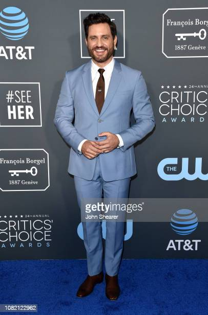 Edgar Ramirez attends the 24th Annual Critics' Choice Awards at Barker Hangar on January 13, 2019 in Santa Monica, California.