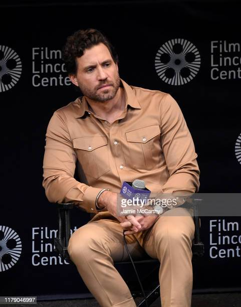 """Edgar Ramirez attends the 57th New York Film Festival - """"Wasp Network"""" Press Conference at Walter Reade Theater on October 04, 2019 in New York City."""