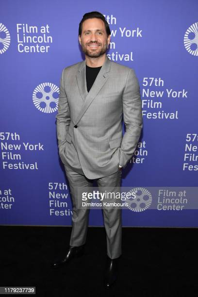 Edgar Ramirez attends the 57th New York Film Festival Wasp Network arrivals at Alice Tully Hall Lincoln Center on October 05 2019 in New York City