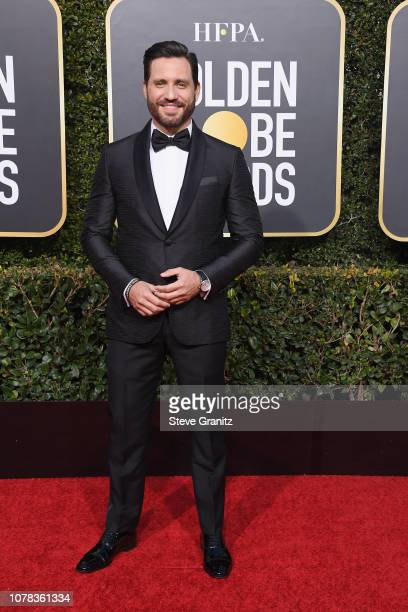 Edgar Ramirez attends the 76th Annual Golden Globe Awards at The Beverly Hilton Hotel on January 6 2019 in Beverly Hills California