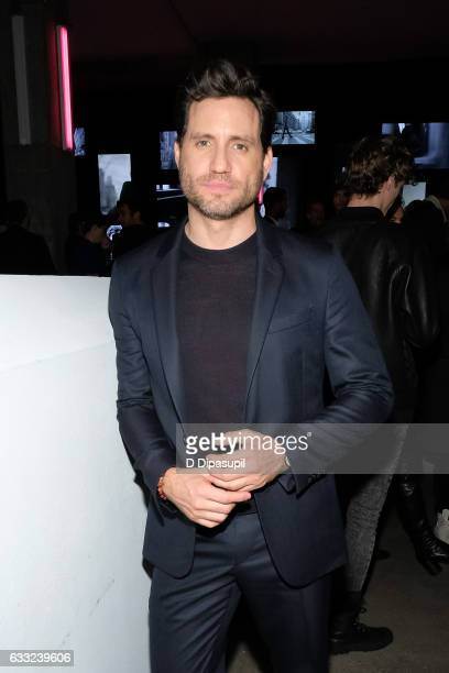 Edgar Ramirez attends the Boss after party during NYFW Men's at Skylight Modern on January 31 2017 in New York City