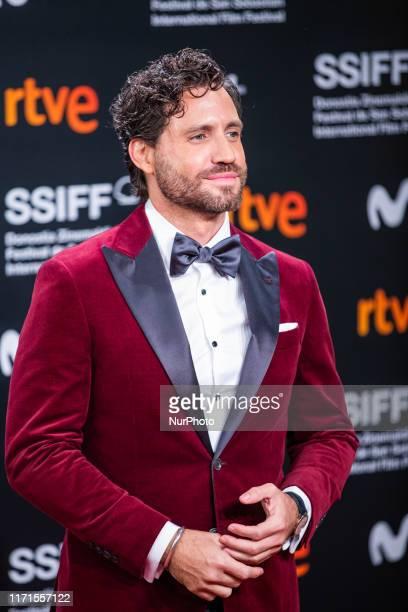 Edgar Ramirez attends the Donostia Award red carpet during 67th San Sebastian International Film Festival on September 27 2019 in San Sebastian Spain