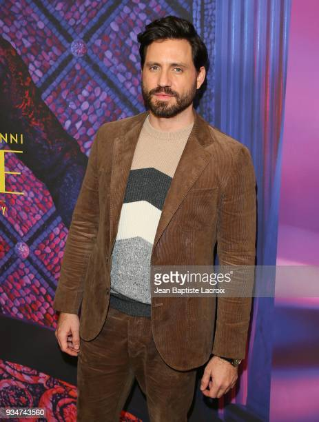 Edgar Ramirez attends the for your consideration event for FX's 'The Assassination Of Gianni Versace American Crime Story' on March 19 2018 in Los...