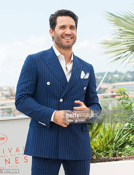 Edgar Ramirez attends the 'Hands Of Stone' Photocall at the annual 69th Cannes Film Festival at Palais des Festivals on May 16 2016 in Cannes France