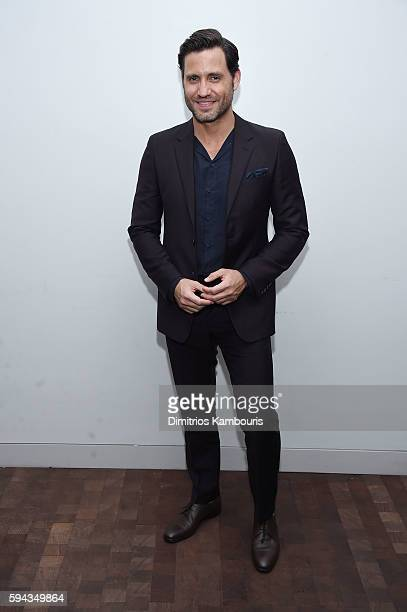 Edgar Ramirez attends the 'Hands Of Stone' US premiere after party at The Redbury New York on August 22 2016 in New York City
