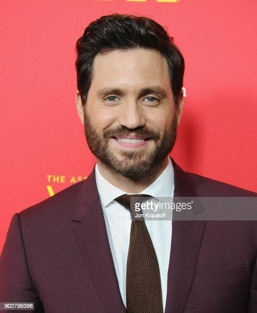Edgar Ramirez attends the Los Angeles Premiere 'The Assassination Of Gianni Versace American Crime Story' at ArcLight Hollywood on January 8 2018 in...