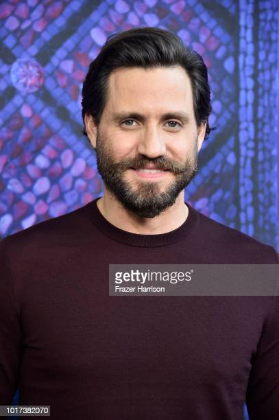 Edgar Ramirez attends the Panel And Photo Call For FX's The Assassination Of Gianni Versace American Crime Story at Los Angeles County Museum of Art...