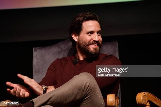 Brad Simpson Tom Rob Smith Darren Criss Edgar Ramirez Finn Wittrock and Alexis Martin Woodall attend the panel and photo call for FX's 'The...