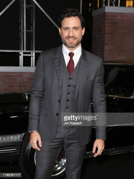 Edgar Ramirez attends the premiere of Netflix's The Irishman at TCL Chinese Theatre on October 24 2019 in Hollywood California