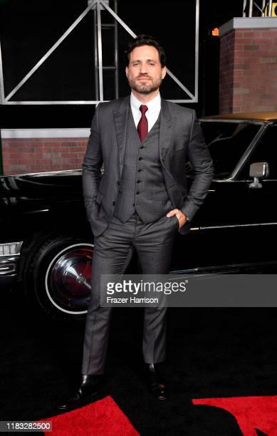 """Edgar Ramirez attends the Premiere Of Netflix's """"The Irishman"""" at TCL Chinese Theatre on October 24, 2019 in Hollywood, California."""