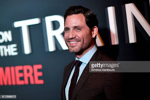 """Edgar Ramirez attends the """"The Girl On The Train"""" New York Premiere at Regal E-Walk Stadium 13 on October 4, 2016 in New York City."""