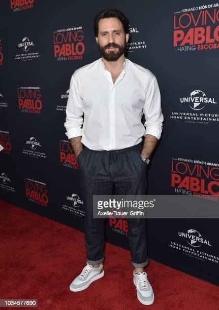 Edgar Ramirez attends Universal Pictures Home Entertainment Content Group's 'Loving Pablo' special screening at The London West Hollywood on...