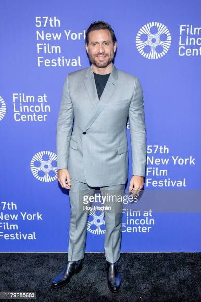 """Edgar Ramirez attends """"Wasp Network"""" arrivals during the 57th New York Film Festival at Alice Tully Hall, Lincoln Center on October 05, 2019 in New..."""