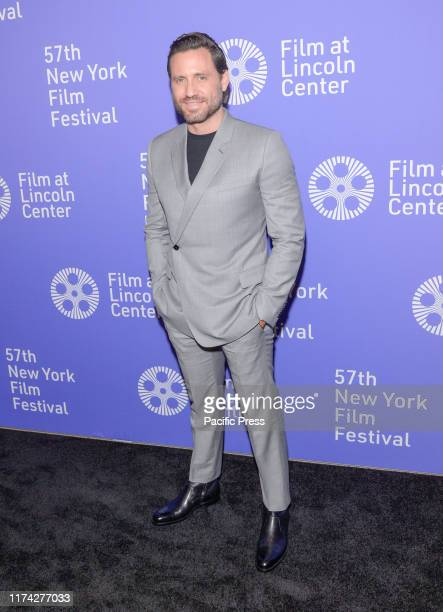 Edgar Ramirez attends Wasp Network premiere during 57th New York Film Festival at Lincoln Center Alice Tully Hall