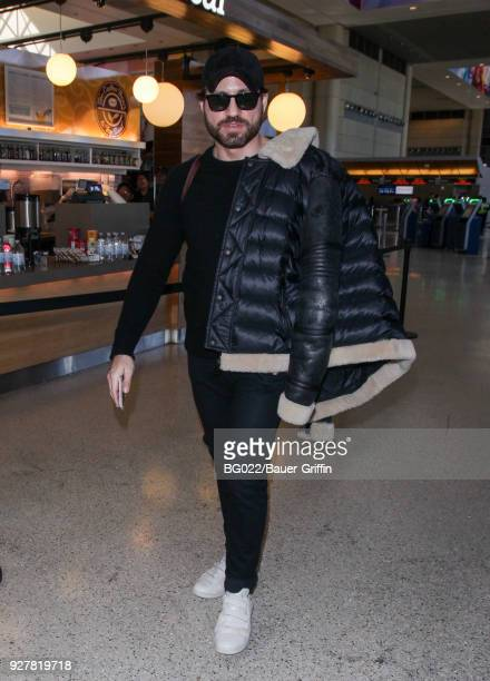 Edgar Ramirez is seen at LAX on March 05 2018 in Los Angeles California