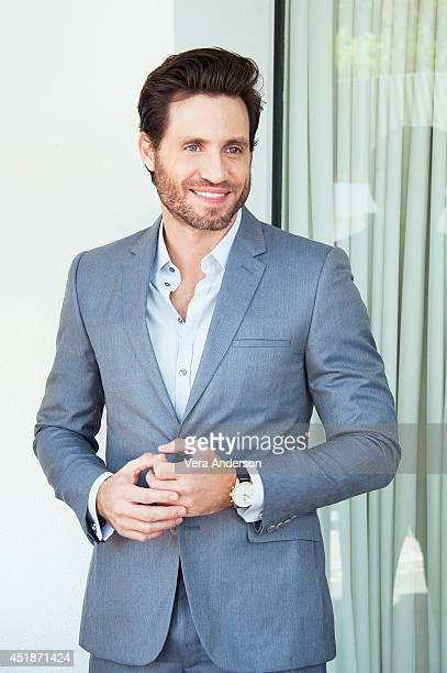 Edgar Ramirez poses for a portrait at the 'Deliver Us From Evil' Press Conference on June 22 2014 in Beverly Hills California