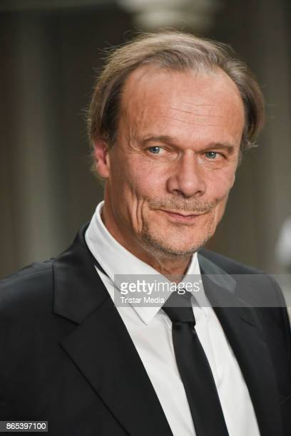 Edgar Selge during the photo call to Michel Houellebecqs novel 'Unterwerfung' on October 23 2017 in Berlin Germany
